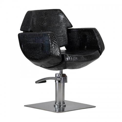 "Kėdė ""Imperia"" juoda blizgi"
