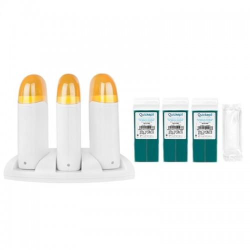 Trijų vaško kasečių šildytuvas 120W 1.1.3