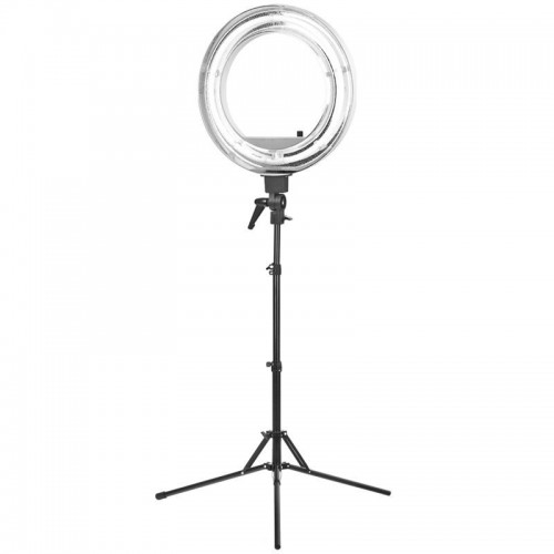 "LEMPA ""RING LIGHT"" 18"" 55W FLUORESCENCINĖ BALTA"