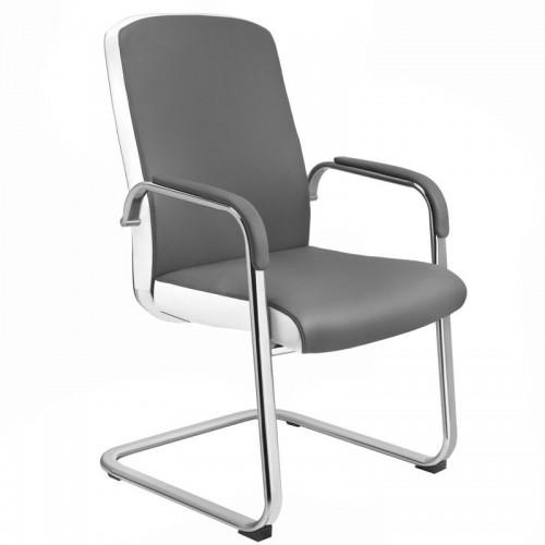 Kosmetologinė kėdė  RICO C1501 Juodai balta