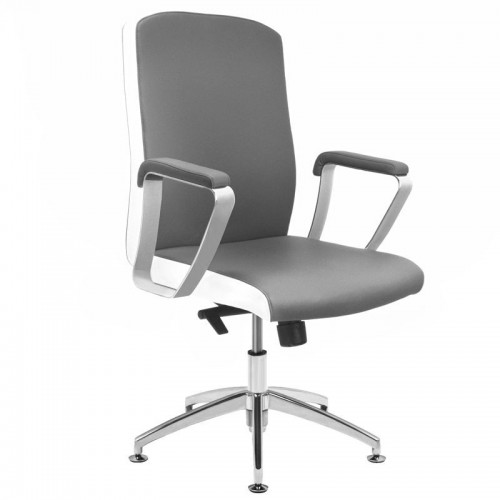 Kosmetologinė kėdė RICO B1501 Juodai balta